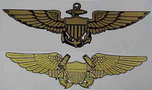 Wing decals these transparent window decals have a richly detailed wing design in gold or silver color available for navy pilot or nfo and air force pilot